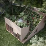 Yin & Yang this is the house of 1001 plants - Because on the roof also fits a garden... Penda